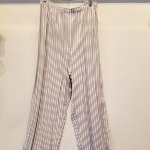 Pants - Striped Elasticized Waist New Pant